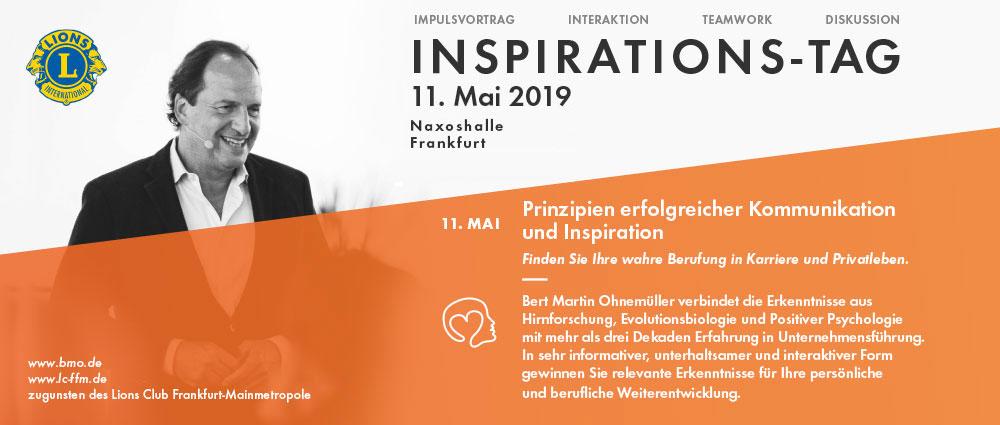 Lions Club Inspirationstag 11.Mai 2019